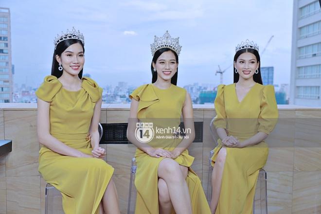 Livestream giao lưu độc quyền với Top 3 Hoa hậu Việt Nam 2020: Đỗ Thị Hà cực xinh, 2 Á hậu sẵn sàng chia sẻ tất tần tật cùng fan! - ảnh 1