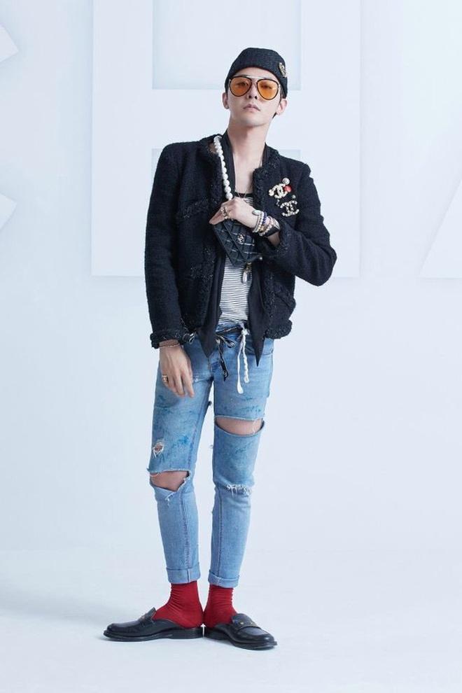 G-Dragon comeback cực ngầu tại sự kiện đầu tiên hậu xuất ngũ, nhưng sao gương mặt và sống mũi lại kì kì thế này? - Ảnh 9.