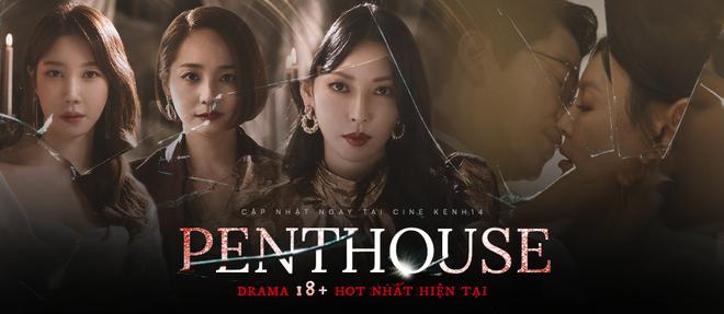 Tưởng thua đau ngay tập 9 Penthouse, ai ngờ Lee Ji Ah quay xe khét lẹt, mượn tay chồng tồi diệt gọn kẻ thù - Ảnh 14.