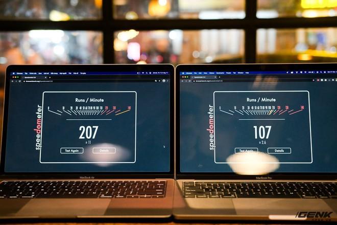 Trải nghiệm nhanh MacBook Air 2020 chip M1: Tôi đã sốc khi Pro 13 inch 2020 bị ngửi khói toàn tập - ảnh 4