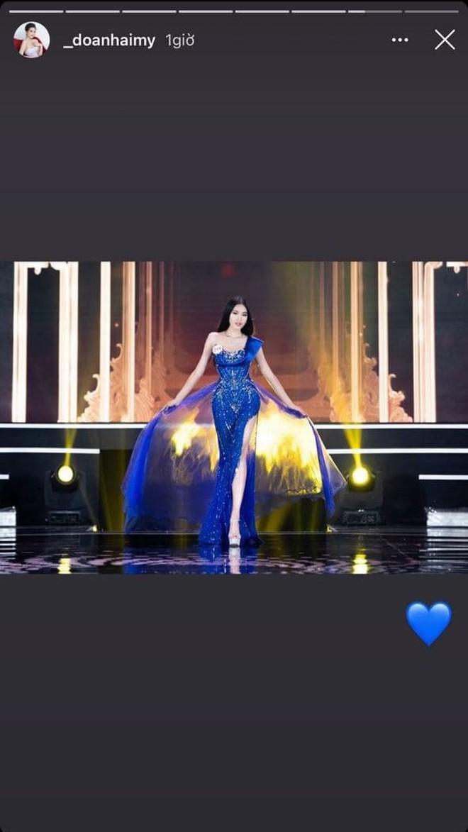 Đoàn Văn Hậu và Doãn Hải My tiếp tục để lộ hint hẹn hò sau màn tặng hoa ở Chung kết Hoa hậu - ảnh 3