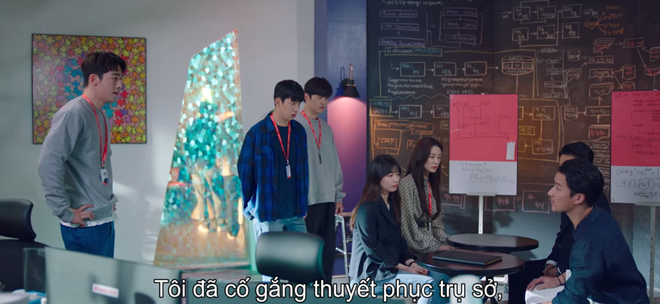 Bị ép rời xa Suzy, Nam Joo Hyuk đánh bầm mặt nam phụ quốc dân ở Start Up tập 12 - ảnh 1