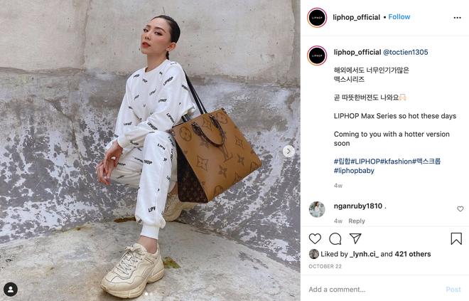"""Tóc Tiên, Linh Ka chênh nhau cả giáp vẫn đụng hàng """"nảy lửa"""", lại xuất hiện trên Instagram của thương hiệu Hàn - Ảnh 4."""