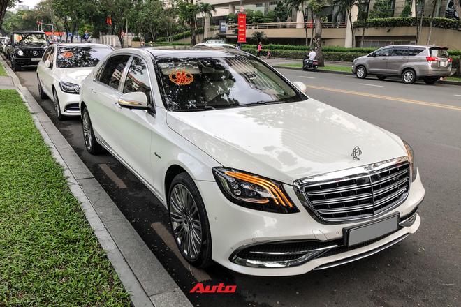 HOT: Loạt xe khủng đưa dâu trong đám hỏi Phan Thành, chú rể cầm lái Rolls-Royce Wraith 34 tỷ đồng - ảnh 10