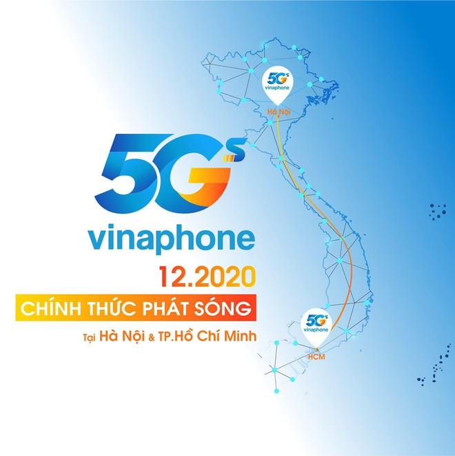 Vinaphone sẽ chính thức triển khai mạng 5G trong tháng 12 - ảnh 1