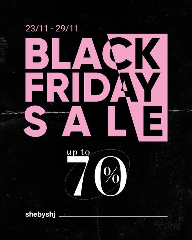 """Chị em hóng ngay: List các shop thời trang hot hit sale """"sập sàn đến 80% dịp Black Friday - ảnh 13"""