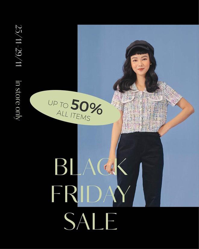 """Chị em hóng ngay: List các shop thời trang hot hit sale """"sập sàn đến 80% dịp Black Friday - ảnh 34"""