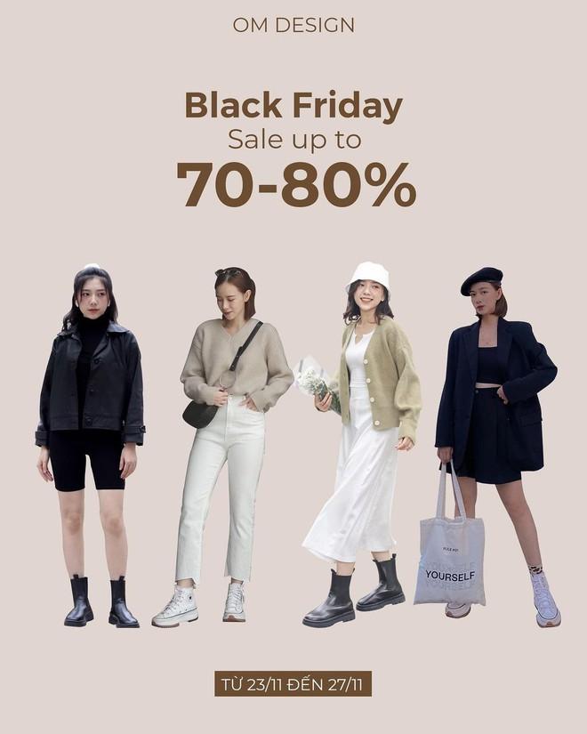 """Chị em hóng ngay: List các shop thời trang hot hit sale """"sập sàn đến 80% dịp Black Friday - ảnh 1"""