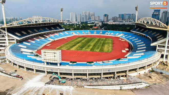 Sân Mỹ Đình sẽ được khoác áo mới chuẩn bị cho SEA Games 31 - ảnh 3