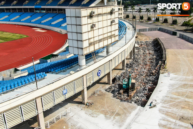 Sân Mỹ Đình sẽ được khoác áo mới chuẩn bị cho SEA Games 31 - ảnh 4