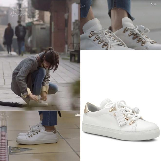 Không xem Start-Up thì chị em cũng nên ghim 4 kiểu giày đế thấp Suzy diện trong phim để nâng cấp style toàn tập - ảnh 9