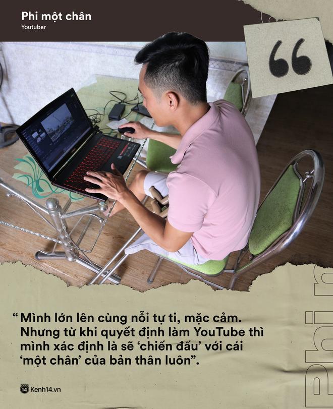 Thánh một chân Lương Phi: Từ cậu bé bị gã tâm thần chém mất chân đến hành trình trở thành YouTuber tử tế - Ảnh 8.