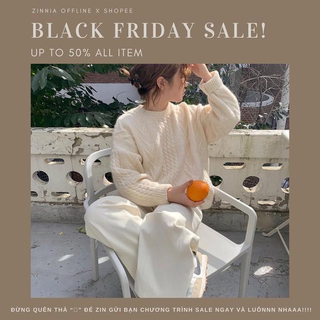 """Chị em hóng ngay: List các shop thời trang hot hit sale """"sập sàn đến 80% dịp Black Friday - ảnh 28"""