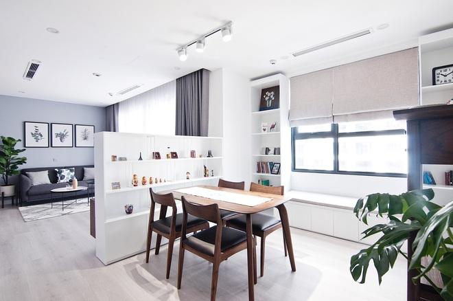Liên hệ hơn 10 đơn vị thiết kế mới chốt, nhà văn trẻ có được căn hộ 91m2 phong cách tối giản sang miễn bàn - Ảnh 3.