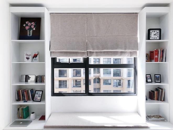 Liên hệ hơn 10 đơn vị thiết kế mới chốt, nhà văn trẻ có được căn hộ 91m2 phong cách tối giản sang miễn bàn - Ảnh 10.