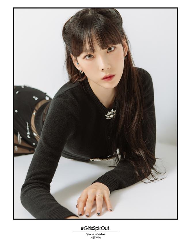 Taeyeon một mình đánh chiếm hai tạp chí với hình ảnh quyến rũ chết người - ảnh 3