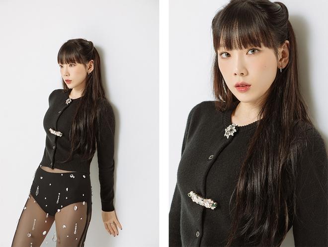 Taeyeon một mình đánh chiếm hai tạp chí với hình ảnh quyến rũ chết người - ảnh 4