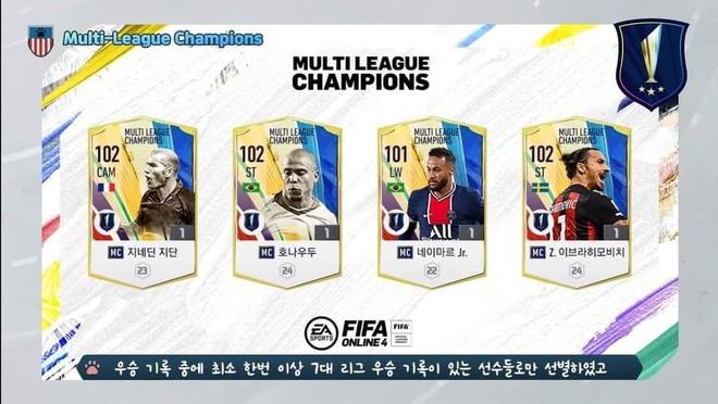 FIFA Online 4 ra mắt mùa thẻ MC mới toanh, đánh bại tất cả thẻ quốc dân cũ về mọi mặt - Ảnh 2.