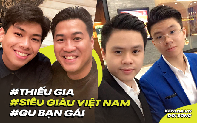Soi gu bạn gái của người thừa kế máu mặt trong 2 gia đình siêu giàu Việt Nam: Muốn bước vào hào môn có dễ? - ảnh 1