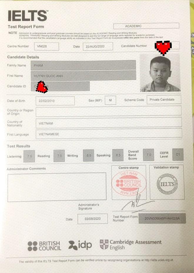 Thần đồng 10 tuổi đạt 7.0 IELTS: Tự học tiếng Anh từ 2 tuổi, bị Hội đồng từ chối vì nhỏ quá nhưng liều lĩnh gọi điện xin được thi - ảnh 4