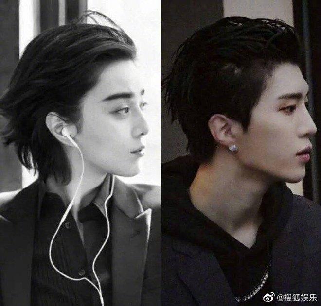 Bức ảnh bắt lú cực mạnh nhà Phạm Băng Băng: Ông em Phạm Thừa Thừa che mặt, cả Weibo nhận nhầm thành bà chị xinh đẹp - Ảnh 5.