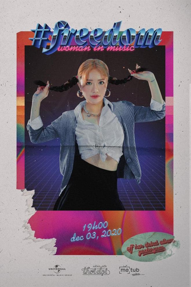 Tạo hình bắt lú của nữ nghệ sĩ Vpop: Quen với hình ảnh hát ballad đượm buồn, nay lại rất Bích Phương còn style y hệt Britney Spears? - Ảnh 1.