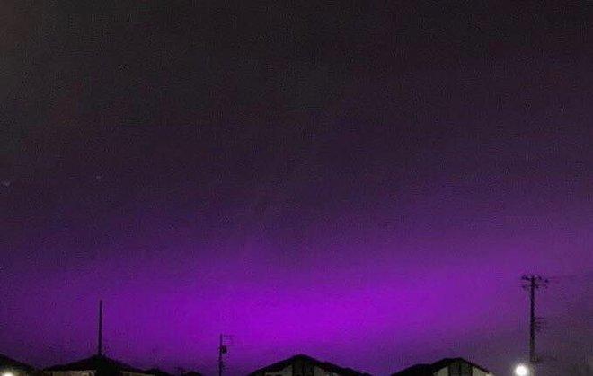 Nhật Bản: Bầu trời bỗng chuyển màu tím như phim kinh dị khiến nhiều người hoang mang, nhưng khi biết nguyên nhân ai nấy đều ngã ngửa - ảnh 5