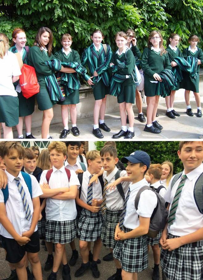 Nhìn qua đồng phục đến trường của học sinh ở các quốc gia trên thế giới, ẩn sau mỗi thiết kế đôi khi là những lý do riêng đặc biệt - ảnh 1