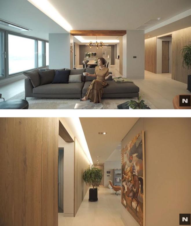 Mẹ Kim Tan Kim Sung Ryung khoe căn hộ cao cấp ở với chồng đại gia: View sông Hàn, bàn ăn khổng lồ khiến khách mời rớt hàm - ảnh 2