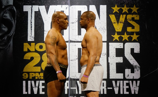 Ông lão 54 tuổi Mike Tyson xuất hiện thon gọn hơn cả thời trai trẻ, sẵn sàng cho trận đại chiến cùng Roy Jones - ảnh 1
