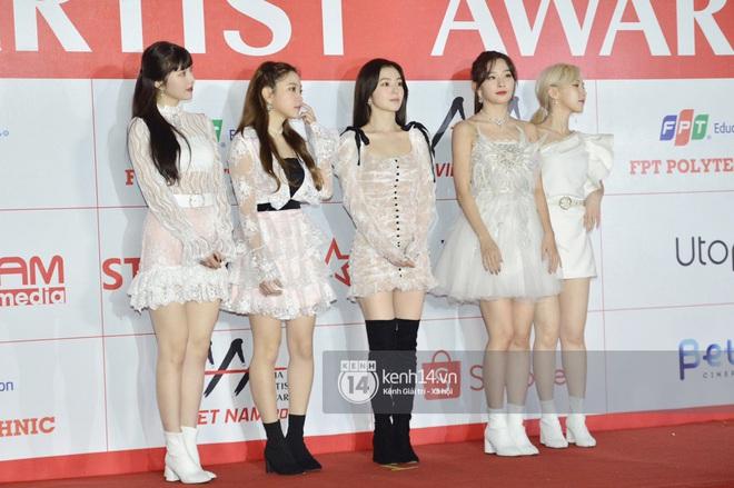 """Năm ngoái quân đoàn sao Hàn khuynh đảo thảm đỏ AAA ở Việt Nam: Yoona - Park Min Young đẹp xỉu, Ji Chang Wook, Red Velvet và dàn idol """"bùng nổ"""" - ảnh 19"""