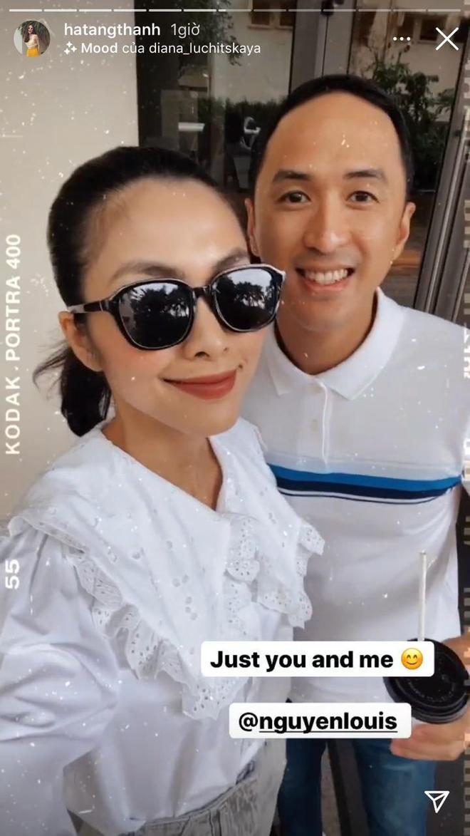 Hà Tăng khoe ảnh tình tứ bên ông xã đại gia, hé lộ phản ứng bất ngờ khi Louis Nguyễn bị fan nữ quây kín - ảnh 3