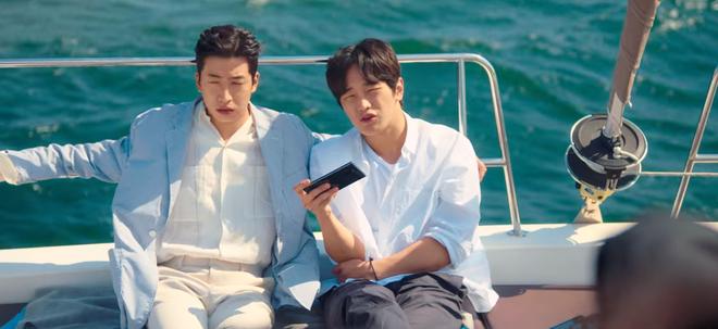 Kim Seon Ho rục rịch tỏ tình Suzy, fan chưa kịp mừng thì Nam Joo Hyuk tái xuất ở tập 13 Start Up - ảnh 2