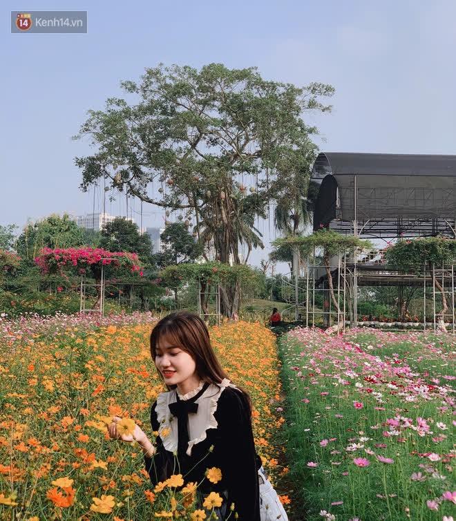 Trường ĐH rộng gần 200 ha có vườn hoa đẹp nhất mùa đông Hà Nội, nhiều góc sống ảo cực chill chỉ với 25K - ảnh 20