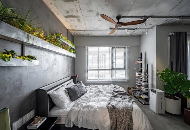 Mạnh tay đập bỏ hết tường và trần nhà, chàng trai Sài Gòn có ngay căn hộ studio cực ấn tượng, không gian mở được tận dụng tối đa - Ảnh 5.