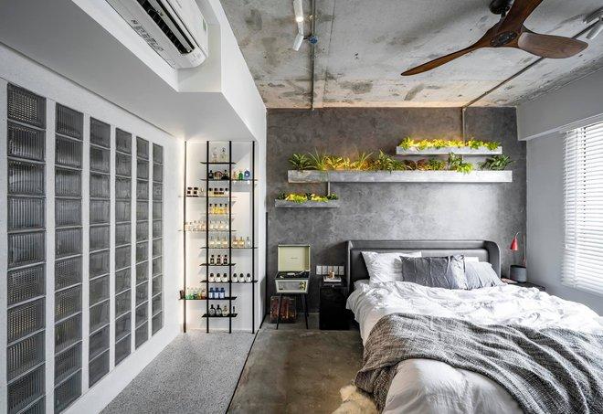 Mạnh tay đập bỏ hết tường và trần nhà, chàng trai Sài Gòn có ngay căn hộ studio cực ấn tượng, không gian mở được tận dụng tối đa - Ảnh 6.