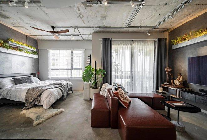 Mạnh tay đập bỏ hết tường và trần nhà, chàng trai Sài Gòn có ngay căn hộ studio cực ấn tượng, không gian mở được tận dụng tối đa - Ảnh 8.