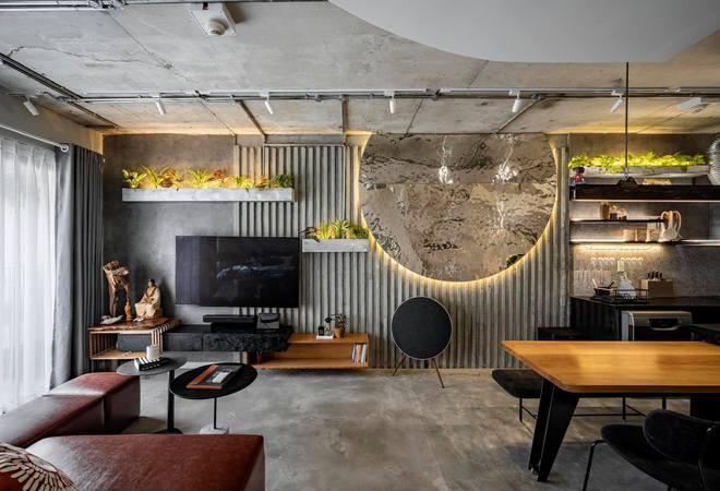Mạnh tay đập bỏ hết tường và trần nhà, chàng trai Sài Gòn có ngay căn hộ studio cực ấn tượng, không gian mở được tận dụng tối đa - Ảnh 10.