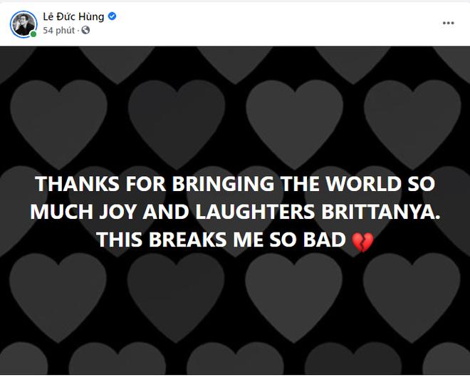 Bảo Anh và nhạc sĩ Mew Amazing bày tỏ tiếc thương khi nghe tin rapper Brittanya Karma qua đời vì Covid-19 - ảnh 1