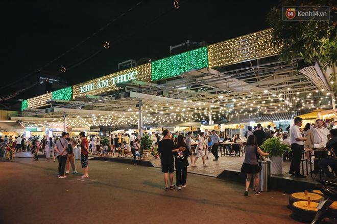 Cận cảnh phố đi bộ đêm thứ 3 vừa hoạt động thử nghiệm ở Sài Gòn - ảnh 6