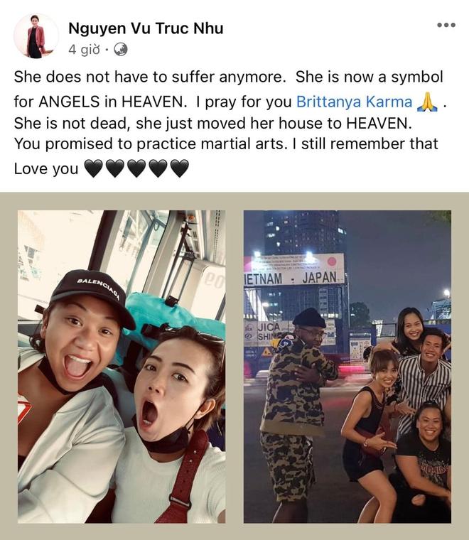 Host Anh Chàng Độc Thân chia sẻ về sự ra đi của Brittanya Karma: Mẹ em nhắn em bị hư 60% phổi - Ảnh 6.