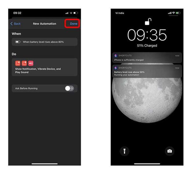 Sạc iPhone đến 80% sẽ giúp tăng tuổi thọ pin, nhưng làm sao để nhận được thông báo ngay lúc ấy? - ảnh 9