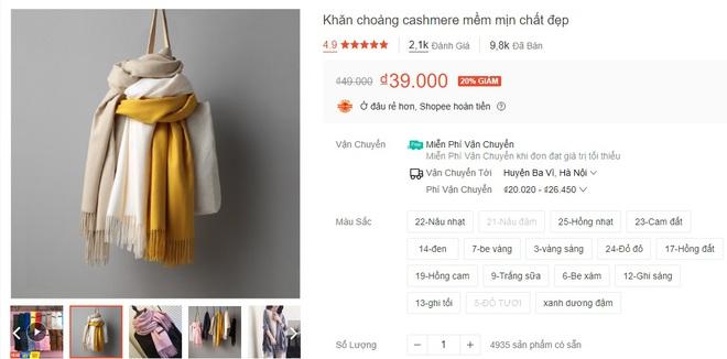 5 mẫu khăn len từ 39k bán chạy nhất kèm cả review xịn cho bạn - ảnh 5