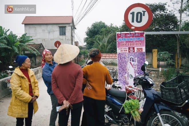 Bà hàng xóm đi nhiều chuyện với láng giềng của Đỗ Thị Hà: Ối giời ơi làng có cô Hoa hậu mà mát lòng, đời người không có lần 2 đâu! - ảnh 1