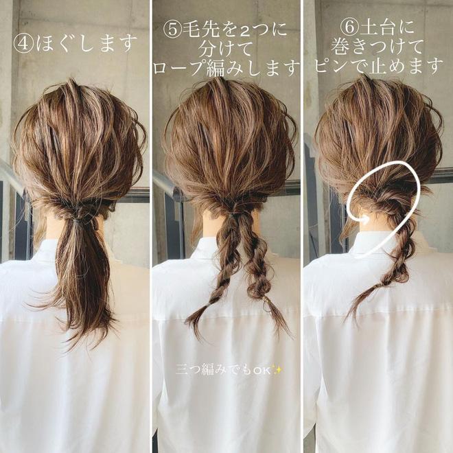 """Học 4 kiểu tết tóc """"xinh xỉu"""" cho mùa lạnh, con gái chẳng sợ ai chê tóc tai chán đời - Ảnh 3."""