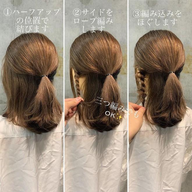 """Học 4 kiểu tết tóc """"xinh xỉu"""" cho mùa lạnh, con gái chẳng sợ ai chê tóc tai chán đời - Ảnh 6."""