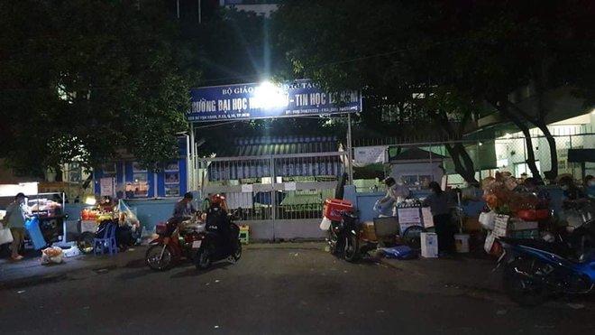 TP.HCM: Cựu sinh viên rơi từ tầng 6 trường Đại học Ngoại Ngữ - Tin Học, tử vong thương tâm - ảnh 2