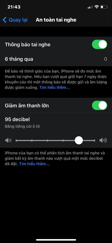 Cách bật cảnh báo tiếng ồn trên iPhone, tránh bị đau tai khi nghe nhạc quá lớn - Ảnh 4.