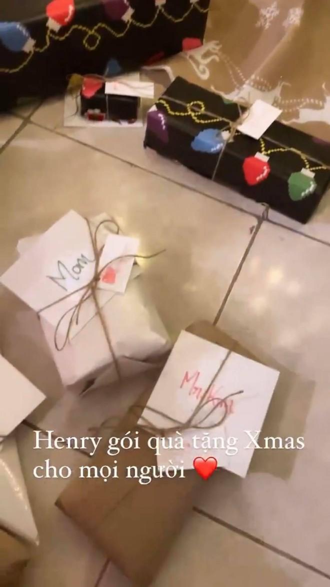Hà Hồ khoe thiệp Giáng Sinh toàn bằng tiếng Anh của Subeo, hé lộ luôn mối quan hệ giữa con và Kim Lý - Ảnh 4.