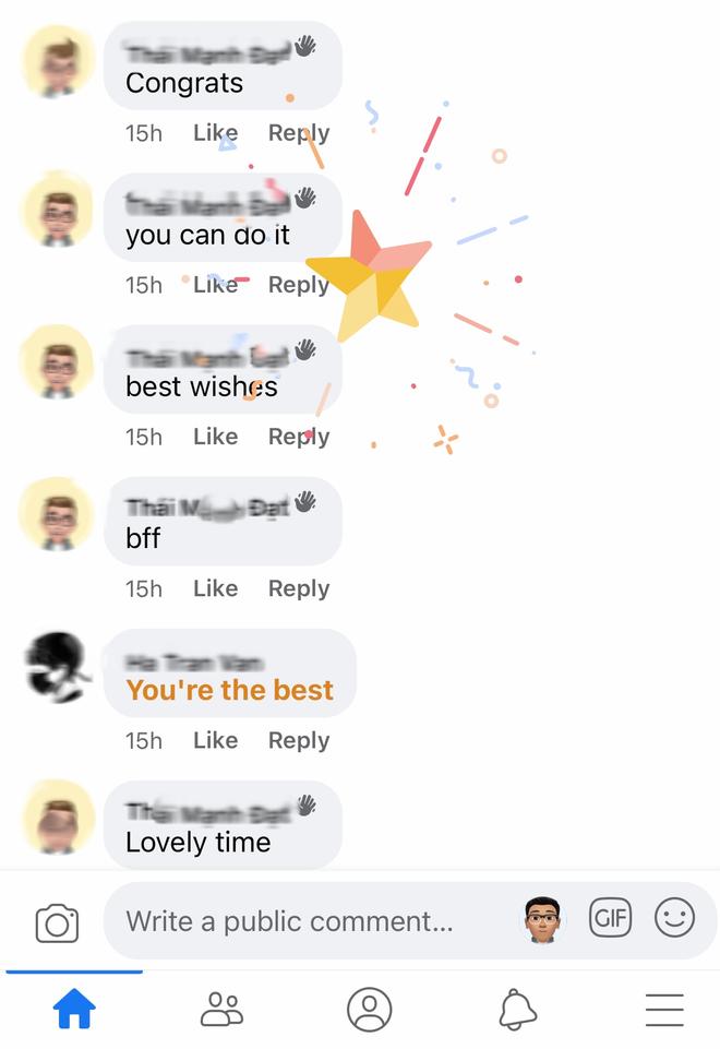 """Không chỉ Gg, hãy comment """"XOXO"""", """"Congrats"""", """"Lovely Time"""" trên Facebook, bạn sẽ thấy rất nhiều thứ ảo diệu! - Ảnh 7."""